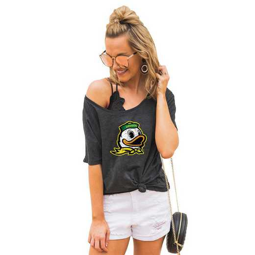 "Oregon Ducks ""Vibing with you"" Boyfriend Tee by Gameday Couture"