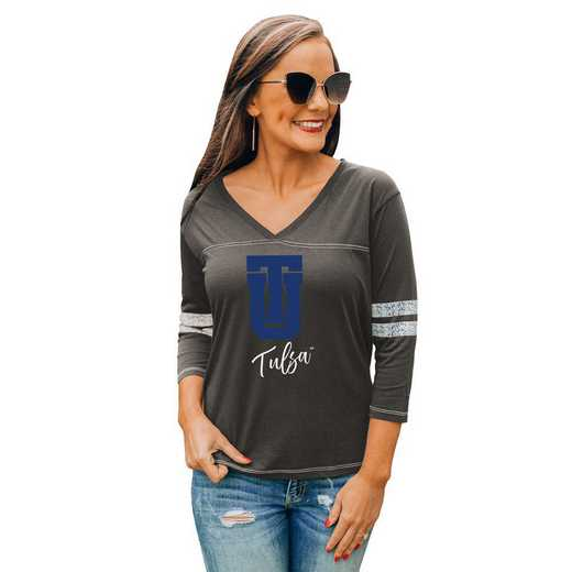 Tulsa Golden Hurricane Catch A Vibe Tee by Gameday Couture