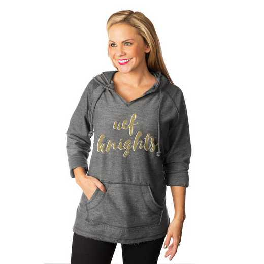 "Central Florida Golden Knights ""Keeping Cozy"" French Terry Hooded Pullover By Gameday Couture"