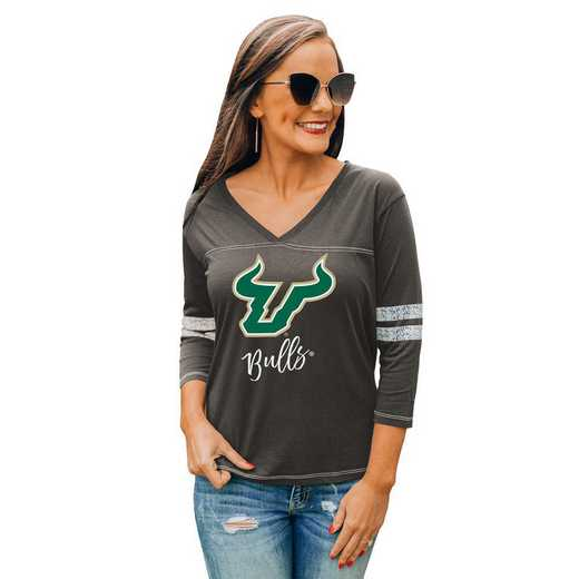 South Florida Bulls Catch A Vibe Tee by Gameday Couture