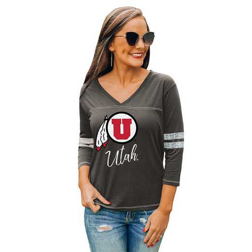 Utah Utes Catch A Vibe Tee by Gameday Couture