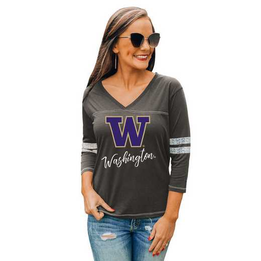 Washington Huskies Catch A Vibe Tee by Gameday Couture