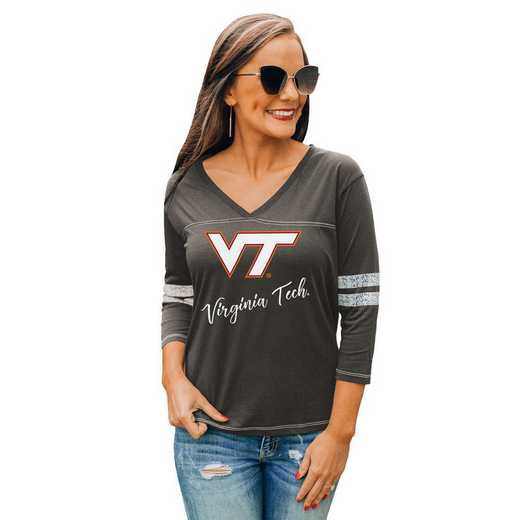 Virginia Tech Hokies Catch A Vibe Tee by Gameday Couture