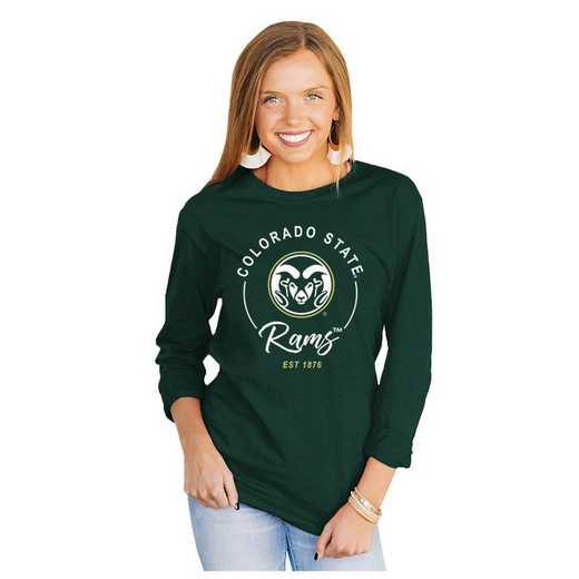 Colorado State Rams It's Gameday Y'all Varsity Crew Top by Gameday Couture