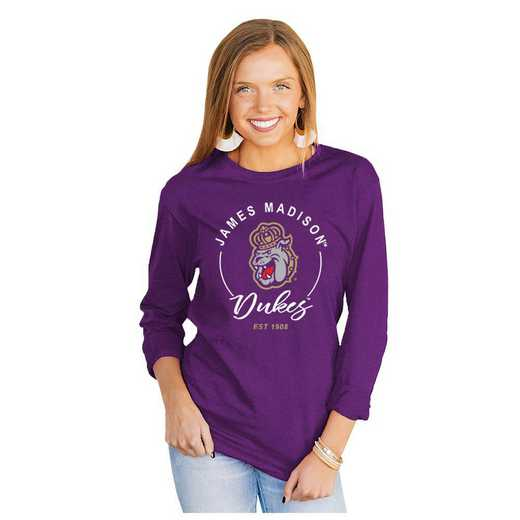 James Madison Dukes It's Gameday Y'all Varsity Crew Top by Gameday Couture