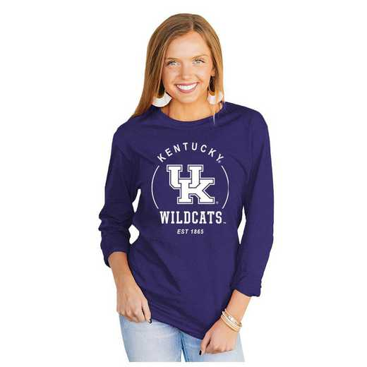 Kentucky Wildcats It's Gameday Y'all Varsity Crew Top by Gameday Couture
