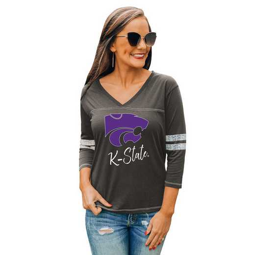 Kansas State Wildcats Catch A Vibe Tee by Gameday Couture