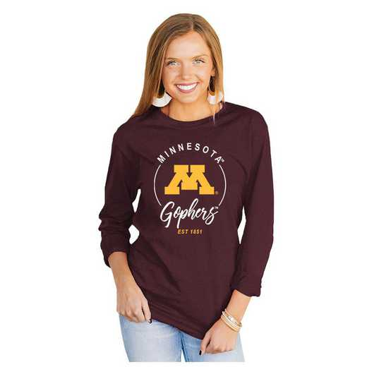 Minnesota Golden Gophers It's Gameday Y'all Varsity Crew Top by Gameday Couture by Gameday Couture