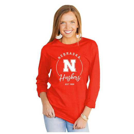 Nebraska Cornhuskers It's Gameday Y'all Varsity Crew Top by Gameday Couture