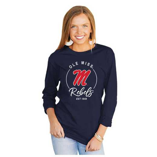 Mississippi Ole Miss It's Gameday Y'all Varsity Crew Top by Gameday Couture