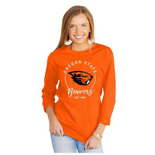 Oregon State Beavers It's Gameday Y'all Varsity Crew Top by Gameday Couture