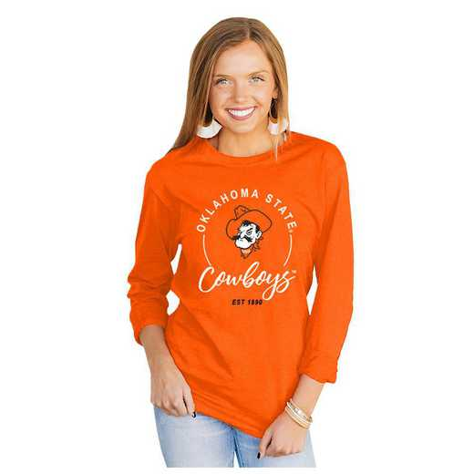 Oklahoma State Cowboys It's Gameday Y'all Varsity Crew Top by Gameday Couture