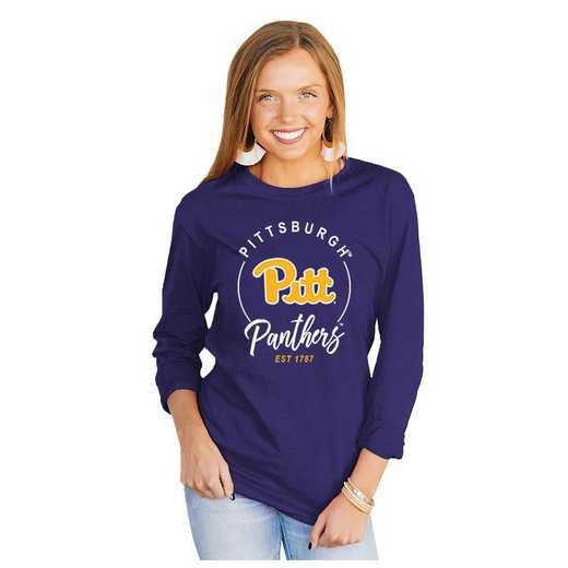 Pittsburgh Panthers It's Gameday Y'all Varsity Crew Top by Gameday Couture