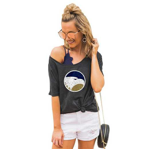 "Georgia Southern Eagles ""Vibing with you"" Boyfriend Tee by Gameday Couture"