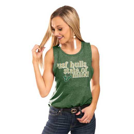 "South Florida Bulls  ""Festival Vibes"" Tank By GameDay Couture"