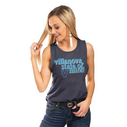 "Villanova Wildcats  ""Festival Vibes"" Tank By GameDay Couture"