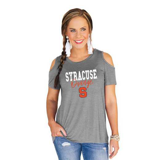 Syracuse Orange Forever a Fan Cold Shoulder Top by Gameday Couture