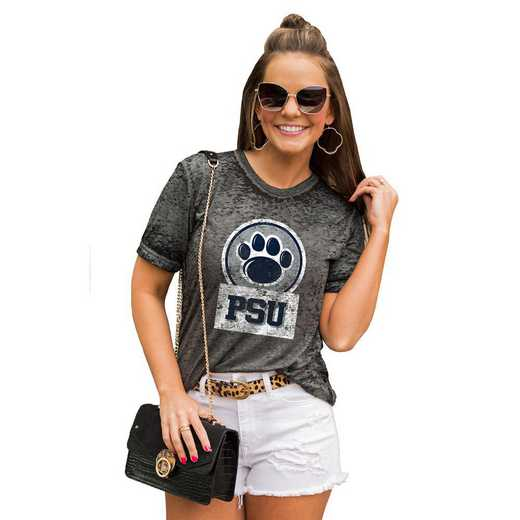 Penn State Nittany Lions Let The Good Vibes Roll Tee by Gameday Couture