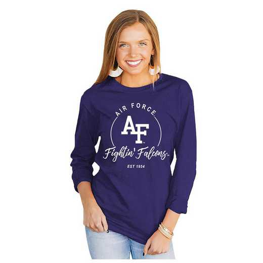 Air Force Falcons It's Gameday Y'all Varsity Crew Top by Gameday Couture