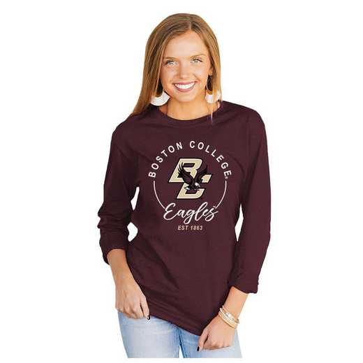 Boston College Eagles It's Gameday Y'all Varsity Crew Top by Gameday Couture
