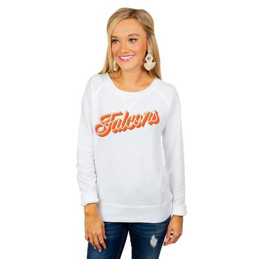 """Bowling Green Falcons """"Casually Cute"""" French Terry Pullover By Gameday Couture"""