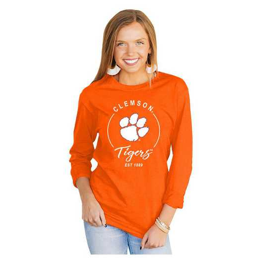 Clemson Tigers It's Gameday Y'all Varsity Crew Top by Gameday Couture