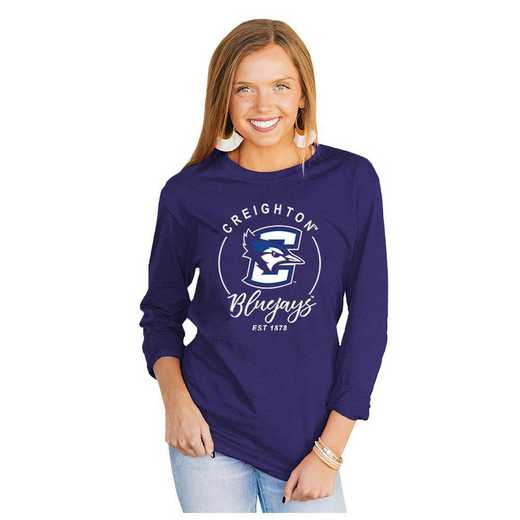 Creighton University Bluejays It's Gameday Y'all Varsity Crew Top by Gameday Couture