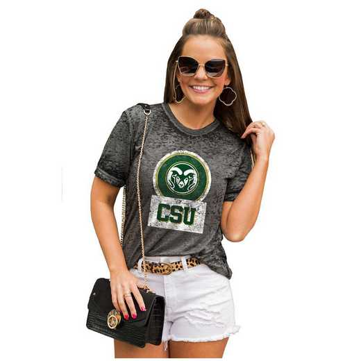 Colorado State Rams Let The Good Vibes Roll Tee by Gameday Couture