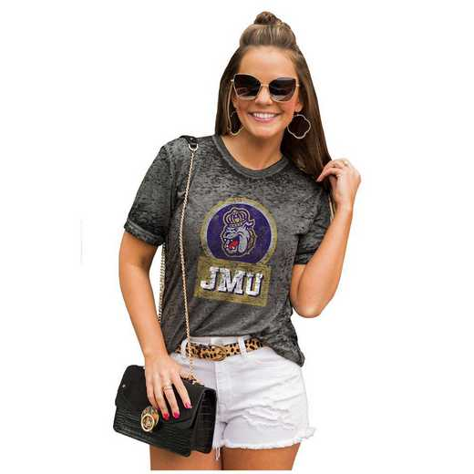 James Madison Dukes Let The Good Vibes Roll Tee by Gameday Couture