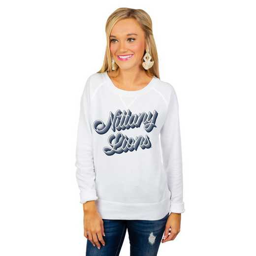 "Penn State Nittany Lions ""Casually Cute"" French Terry Pullover By Gameday Couture"