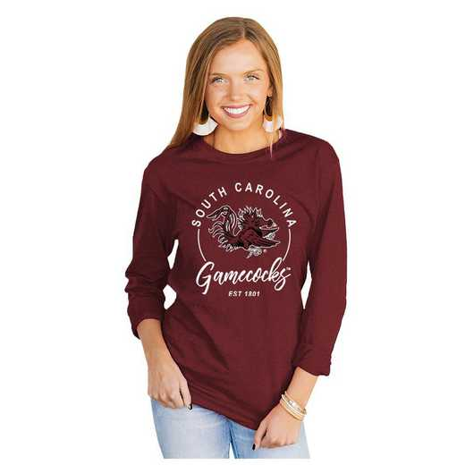 South Carolina Gamecocks It's Gameday Y'all Varsity Crew Top by Gameday Couture