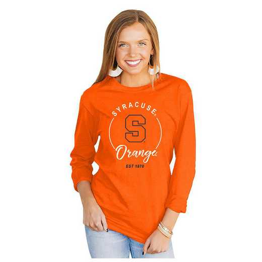 Syracuse Orange It's Gameday Y'all Varsity Crew Top by Gameday Couture