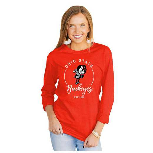 Ohio State University Buckeyes It's Gameday Y'all Varsity Crew Top by Gameday Couture