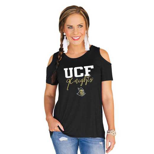 Central Florida Golden Knights Forever a Fan Cold Shoulder Top by Gameday Couture