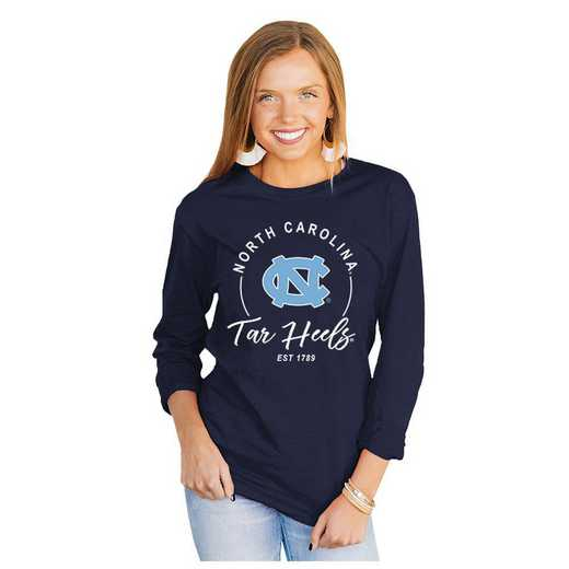 Unc Tar Heels It's Gameday Y'all Varsity Crew Top by Gameday Couture