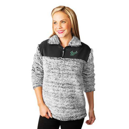 """South Florida Bulls """"Winter Essential"""" Sherpa Pullover By Gameday Couture"""