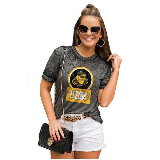 Southern Mississippi Golden Eagles Let The Good Vibes Roll Tee by Gameday Couture