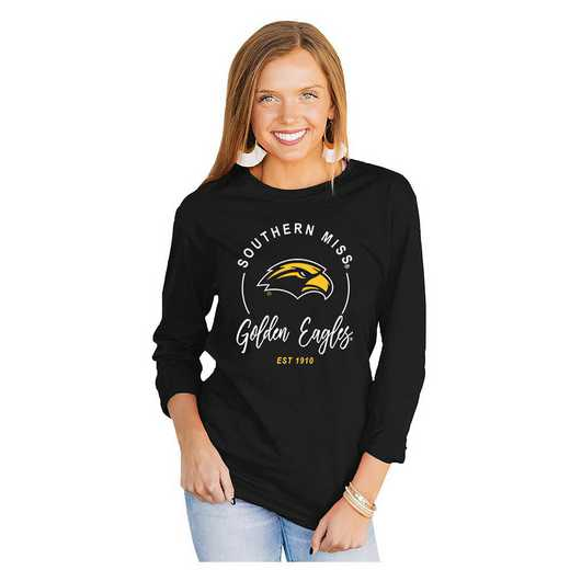 Southern Mississippi Golden Eagles It's Gameday Y'all Varsity Crew Top by Gameday Couture