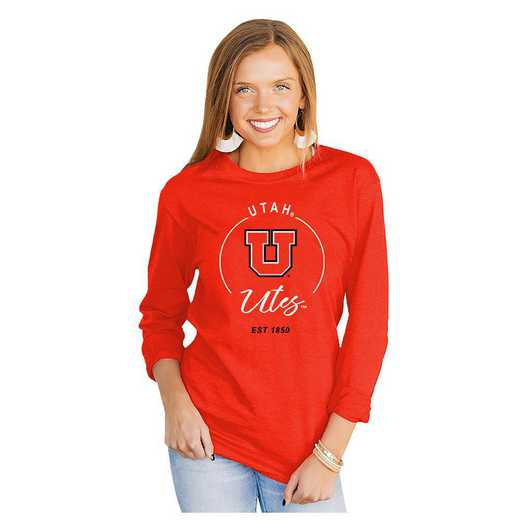 Utah Utes It's Gameday Y'all Varsity Crew Top by Gameday Couture