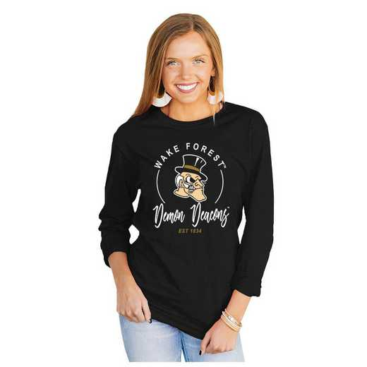 Wake Forest Demon Deacons It's Gameday Y'all Varsity Crew Top by Gameday Couture