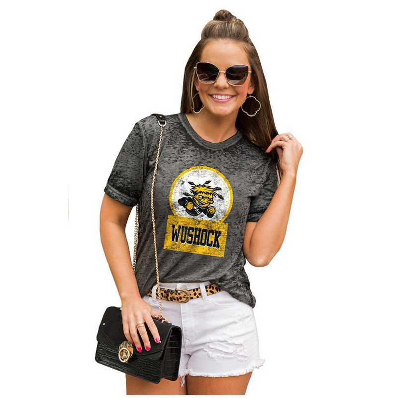 Wichita State Shockers Let The Good Vibes Roll Tee by Gameday Couture
