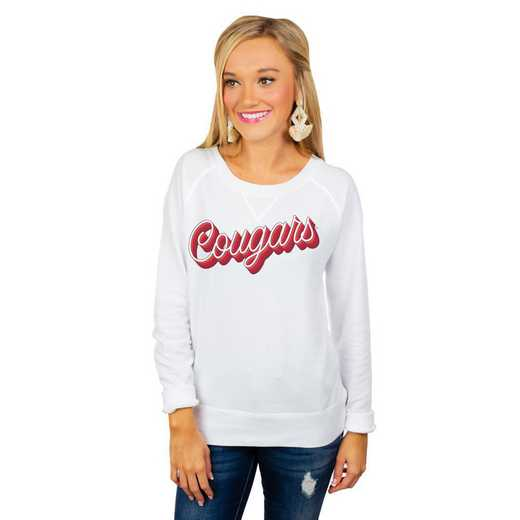 """Washington State Cougars """"Casually Cute"""" French Terry Pullover By Gameday Couture"""