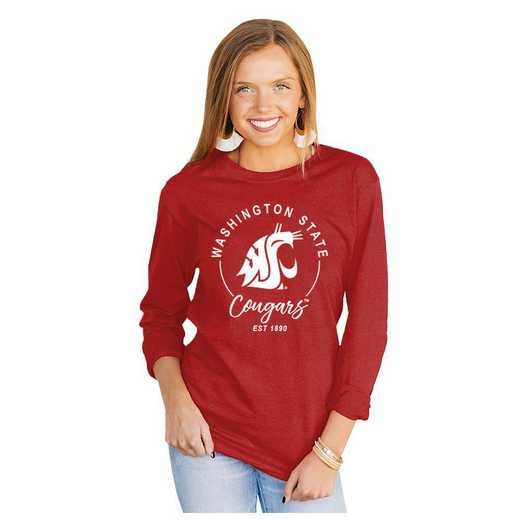 Washington State Cougars It's Gameday Y'all Varsity Crew Top by Gameday Couture
