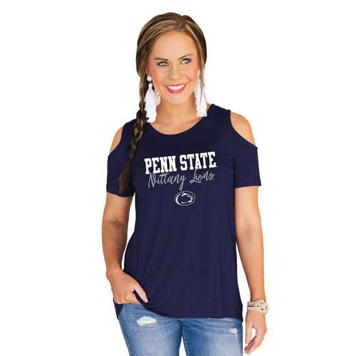Penn State Nittany Lions Forever a Fan Cold Shoulder Top by Gameday Couture