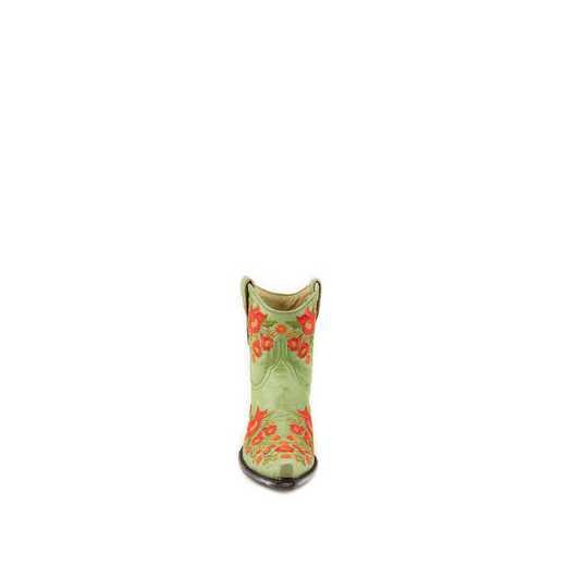 "Women's Chloe 7"" Lime Green Fashion Boot"