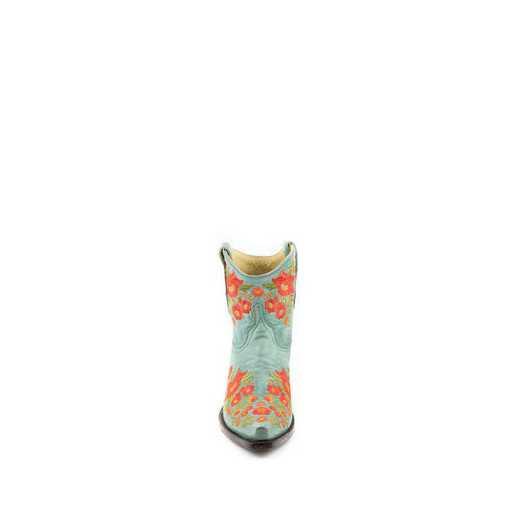 "Women's Chloe 7"" Turquoiseuoise Fashion Boot"