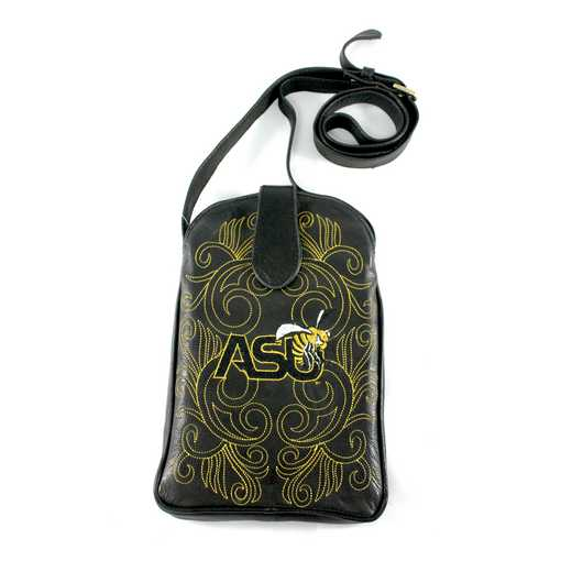 ASU-P230-1: ALABAMA STATE Gameday Boots Purse