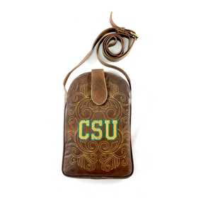 CSU-P030-1: COLORADO STATE Gameday Boots Purse