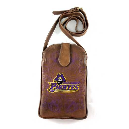 ECU-P075-1: EAST CAROLINA Gameday Boots Purse
