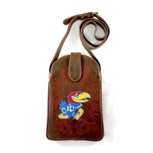 KS-P017-1: U OF KANSAS (KU) Gameday Boots Purse
